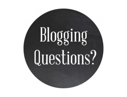 Top Blogging Questions I Get from Real Estate Agents